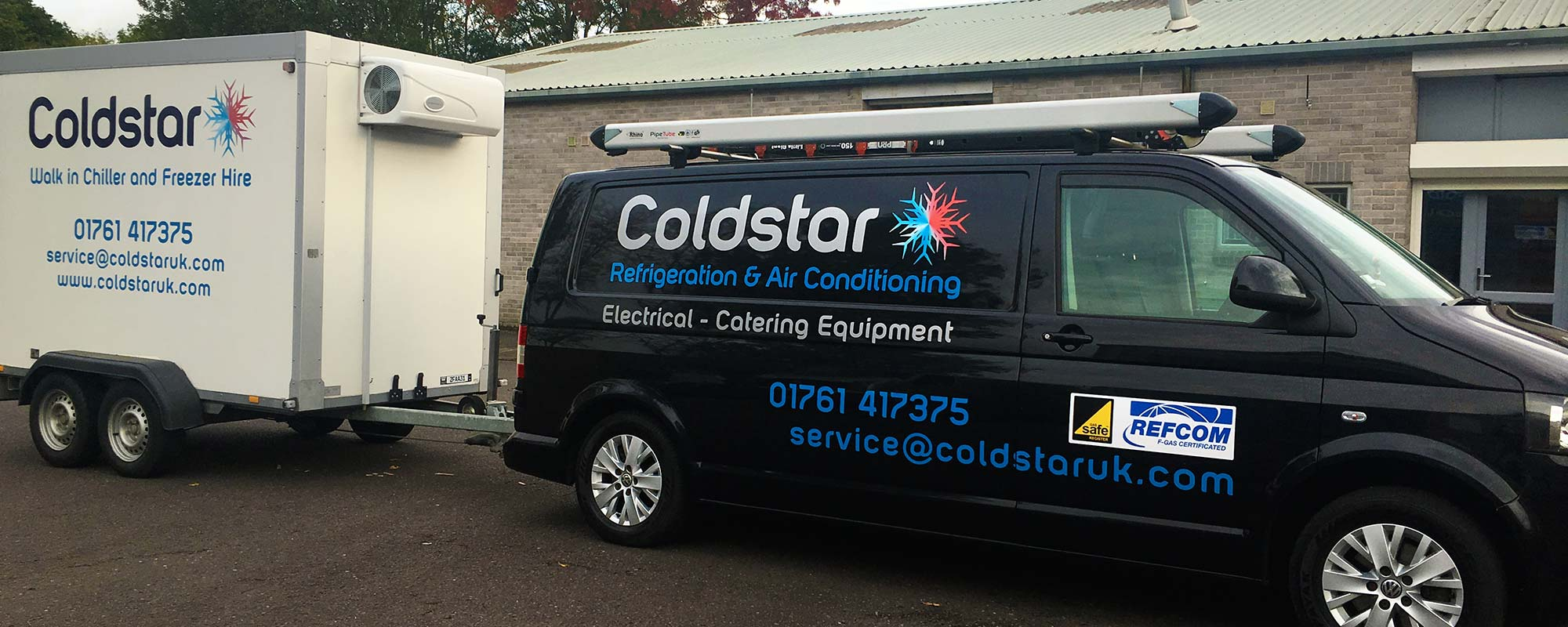 Chiller and Mobile Cold Room Hire